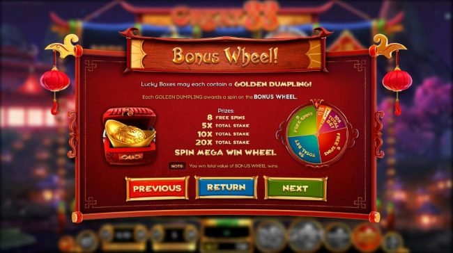 Big Spin featuring the Video Slots Great 88 with a maximum payout of $2,250,000