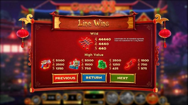 Play Hippo featuring the Video Slots Great 88 with a maximum payout of $2,250,000