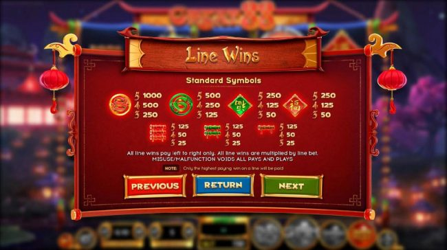 Leo Vegas featuring the Video Slots Great 88 with a maximum payout of $2,250,000