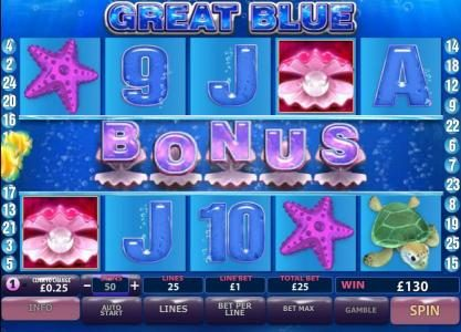 City Tower featuring the Video Slots Great Blue with a maximum payout of $500,000