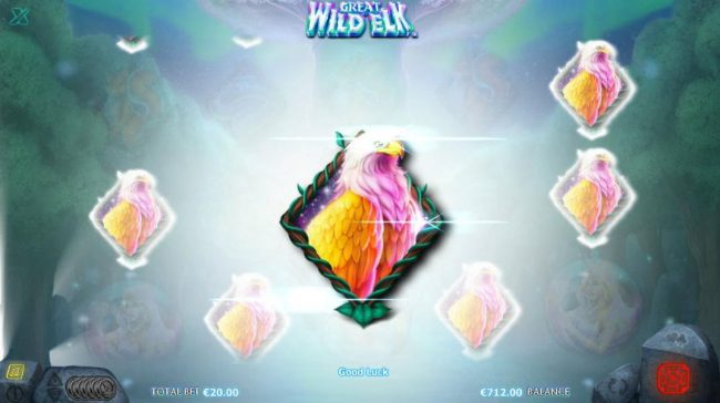 Sin Spins featuring the Video Slots Great Wild Elk with a maximum payout of $10,000