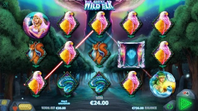Campeon featuring the Video Slots Great Wild Elk with a maximum payout of $10,000