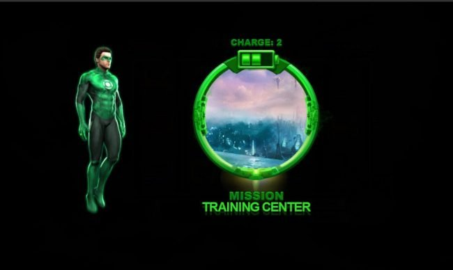 Green Lantern :: Training Center Mission awarded.