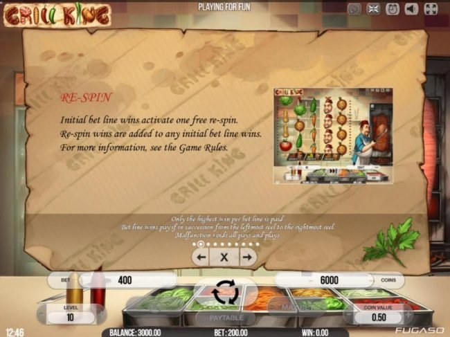 Split Aces featuring the Video Slots Grill King with a maximum payout of $200,000