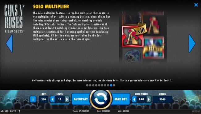 Play slots at Magik Slots: Magik Slots featuring the Video Slots Guns N' Roses with a maximum payout of $225,000