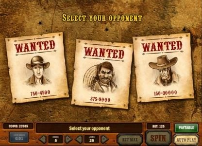 Split Aces featuring the Video Slots Gunslinger with a maximum payout of Jackpot