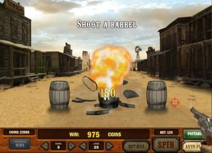 Play slots at Spin Hill: Spin Hill featuring the Video Slots Gunslinger with a maximum payout of Jackpot