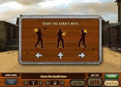 Play 24 Bet featuring the Video Slots Gunslinger with a maximum payout of Jackpot