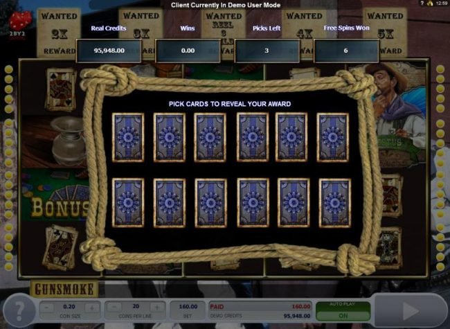 NetBet featuring the Video Slots Gunsmoke with a maximum payout of $3,000