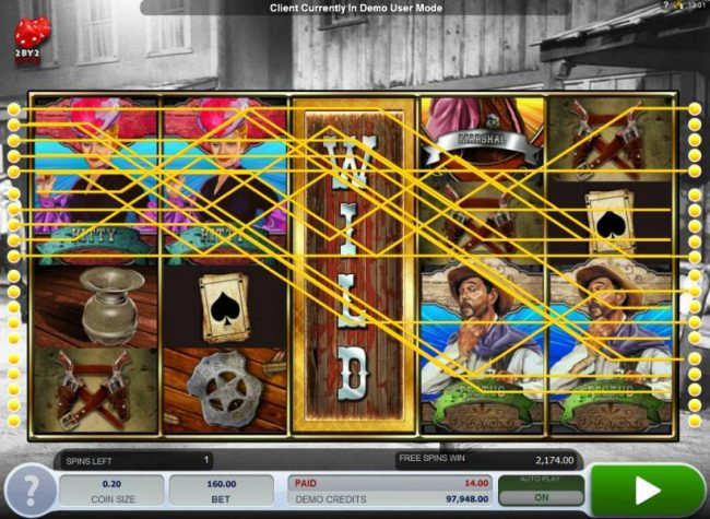 Zet Casino featuring the Video Slots Gunsmoke with a maximum payout of $3,000