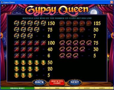 VipSpel featuring the Video Slots Gypsy Queen with a maximum payout of $600,000