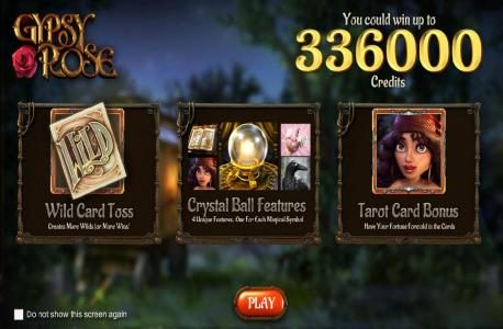 Gypsy Rose :: win up to 336000 coins