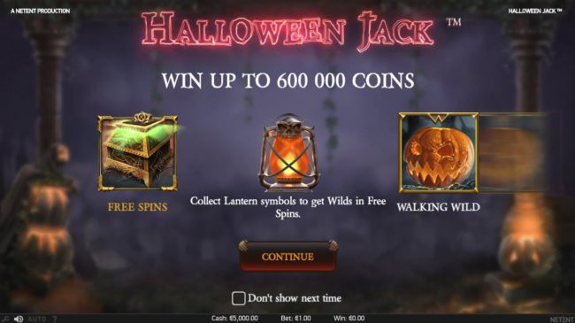 Play slots at Llama Casino: Llama Casino featuring the Video Slots Halloween Jack with a maximum payout of $300,000