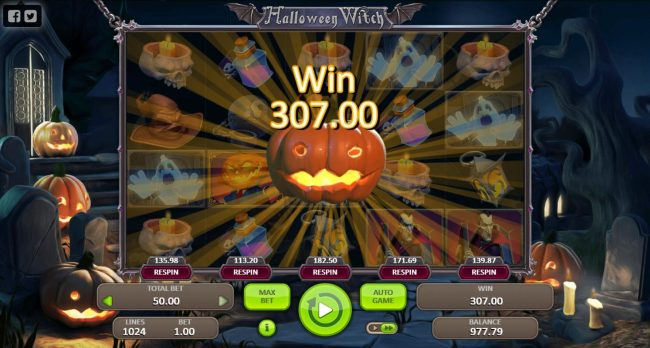 Casino Dingo featuring the Video Slots Halloween Witch with a maximum payout of $5,000