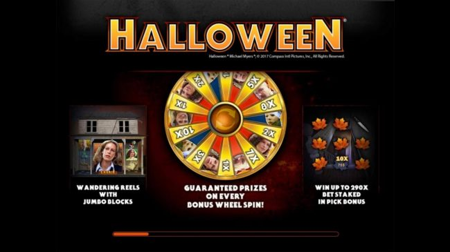 Vegas Seven featuring the Video Slots Halloween with a maximum payout of $100,000
