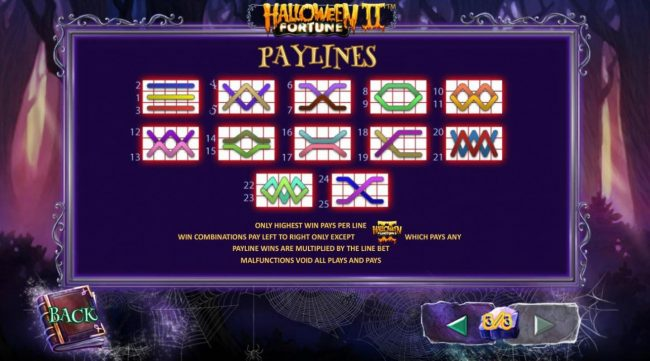LesA Casino featuring the Video Slots Halloween Fortune II with a maximum payout of $75,000