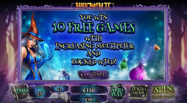 Play slots at Omni: Omni featuring the Video Slots Halloween Fortune II with a maximum payout of $75,000