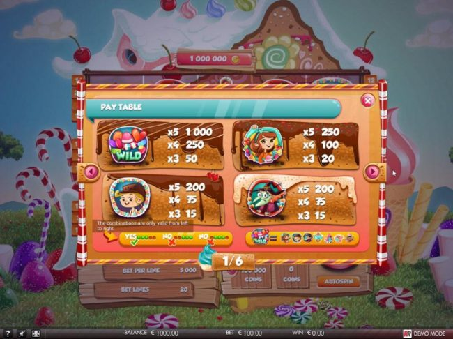 Malina featuring the Video Slots Hansel & Gretel with a maximum payout of $5,000
