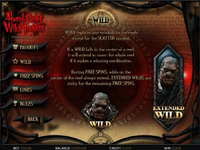 Casdep featuring the Video Slots Hansel & Gretel Witch Hunters with a maximum payout of $30,000