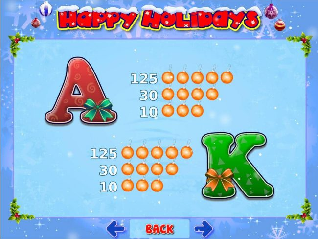 Play slots at Casdep: Casdep featuring the Video Slots Happy Holidays with a maximum payout of $500,000