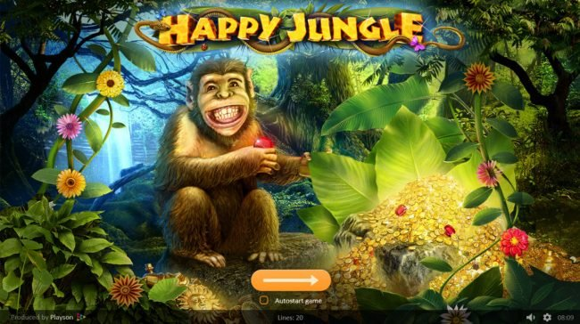 Play slots at Spintropolis: Spintropolis featuring the Video Slots Happy Jungle with a maximum payout of $100,000