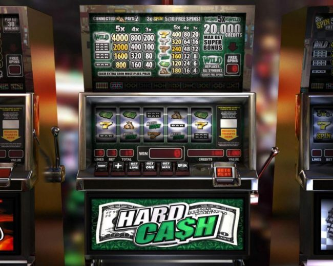 Elegant VIP featuring the Video Slots Hard Cash with a maximum payout of $20,000