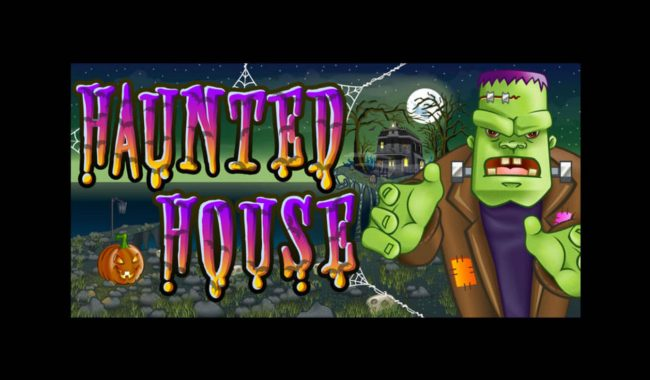 emu Casino featuring the Video Slots Haunted House with a maximum payout of $2,500,000