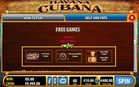 Lucky Bets featuring the Video Slots Havana Cubana with a maximum payout of $3,000