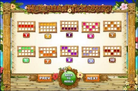My Win 24 featuring the Video Slots Hawaiian Treasure with a maximum payout of 1,000x