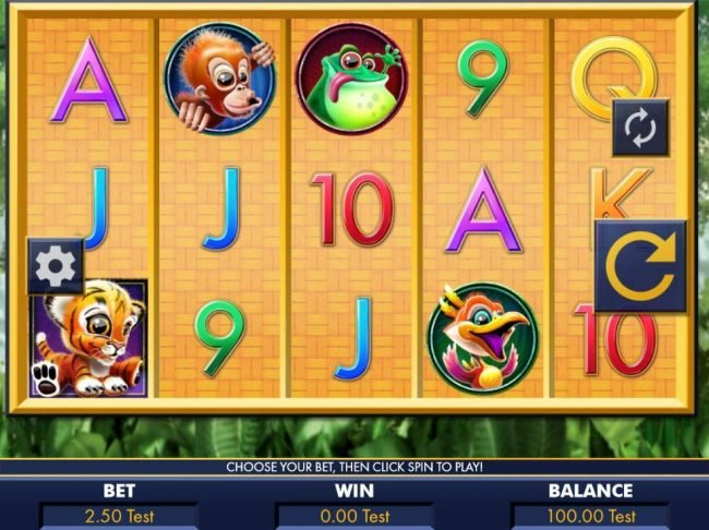 Coral featuring the Video Slots Hear Me Roar! with a maximum payout of $2,000