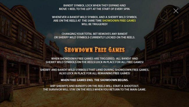 Showdown Free Games Rules