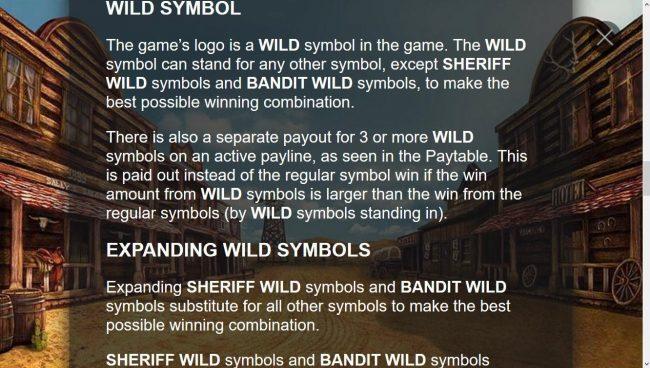 Wild Symbols Rules