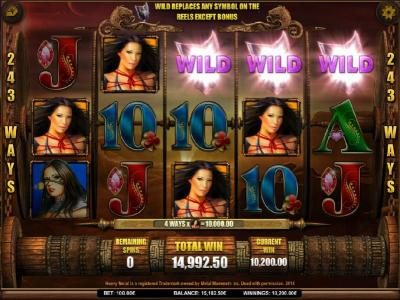 Zet Casino featuring the Video Slots Heavy Metal Warriors with a maximum payout of $62,500
