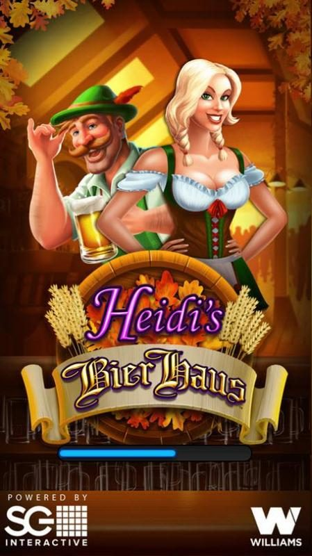 Heidi's Bier Haus :: Splash screen - game loading