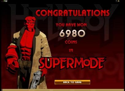 Play slots at Casino Splendido: Casino Splendido featuring the Video Slots Hellboy with a maximum payout of $25,000