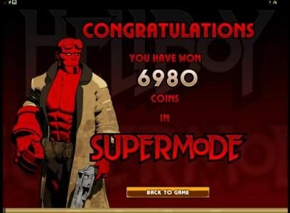 our supermode feature paid out 6980 coins