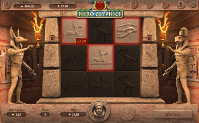 Hero Glyphics :: A winning three of a kind