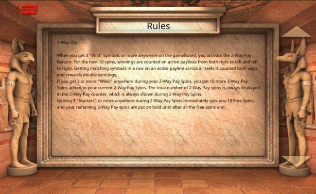Hero Glyphics :: 2-Way Pay Rules