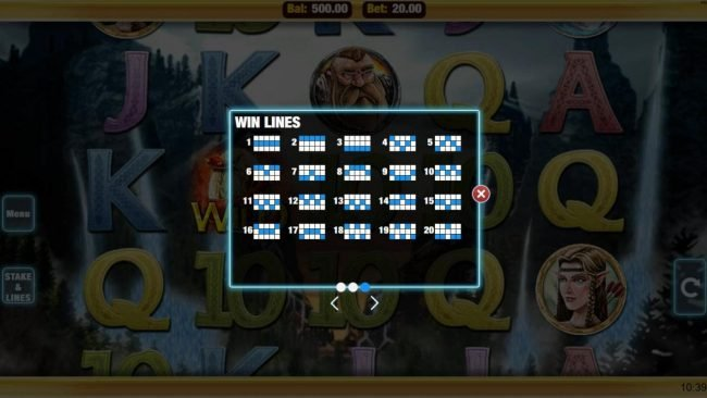 Mobireels featuring the Video Slots Heroic with a maximum payout of $20,000