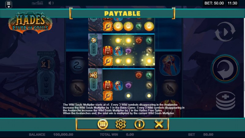 Hades River of Souls :: Mystert Souls Multiplier Feature