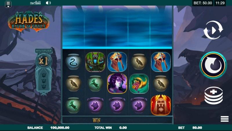 Hades River of Souls :: Main Game Board