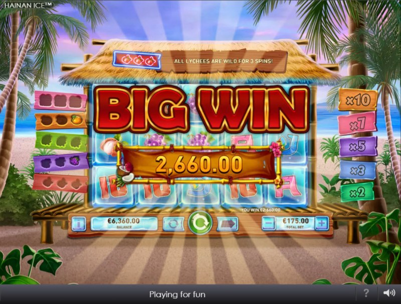 Hainan Ice :: Big Win