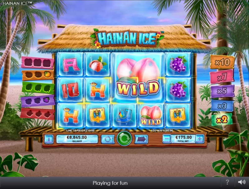 Hainan Ice :: A four of a kind win