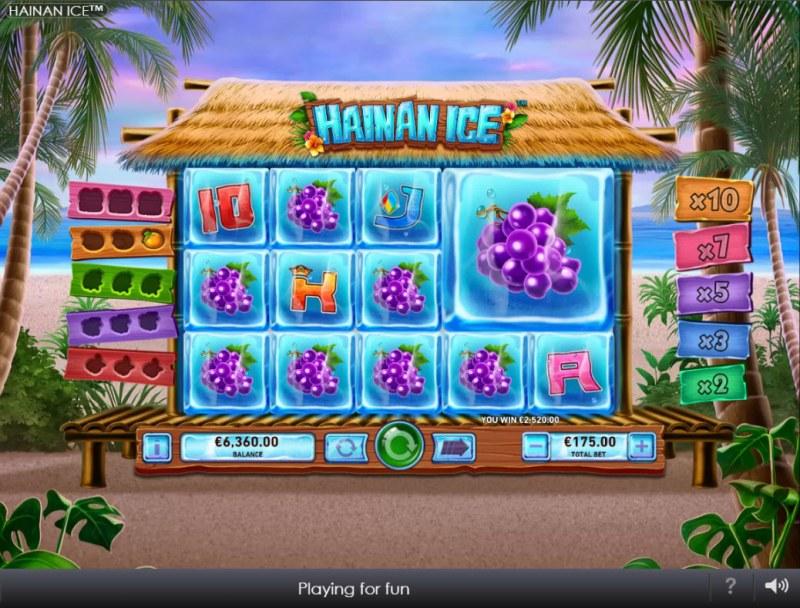 Hainan Ice :: Multiple winning paylines