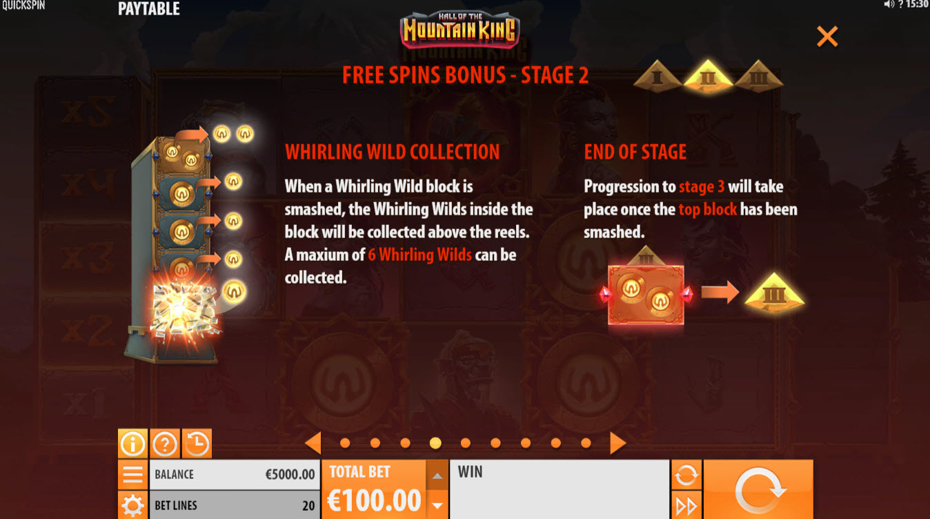 Play slots at Slots Cafe: Slots Cafe featuring the Video Slots Hall of the Mountain King with a maximum payout of $732,600