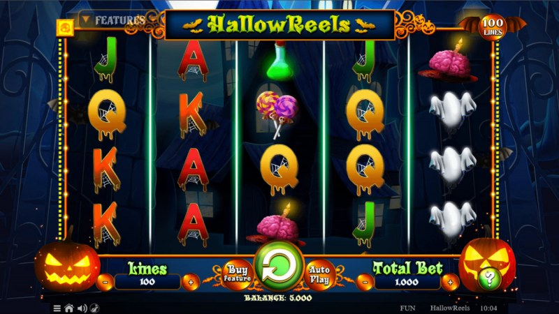 Hallow Reels :: Main Game Board
