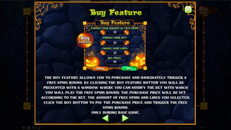 Hallow Reels :: Buy Feature