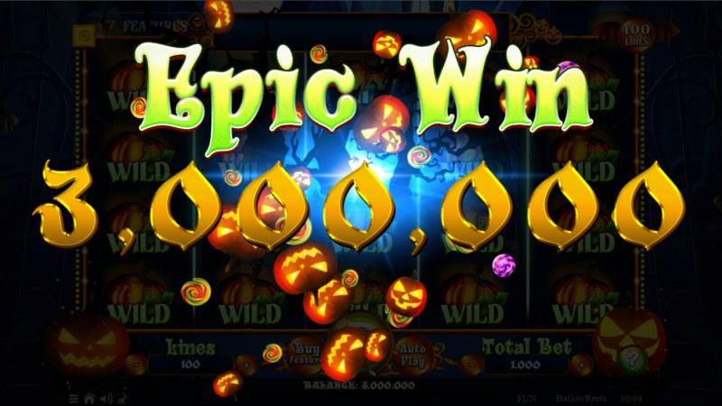 Hallow Reels :: Epic Win