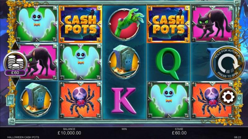 Halloween Cash Pots :: Main Game Board