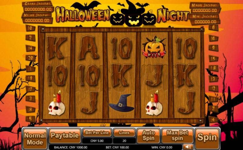 Halloween Night :: Main Game Board